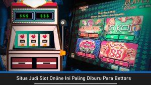 Situs Slot Online Terpercaya Tawarkan Bonus Berlimpah